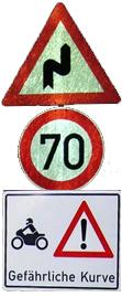 k-04 Verkehrszeichen end